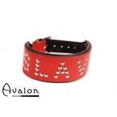 Avalon - YOU'RE MY - Collar Slave - Rød
