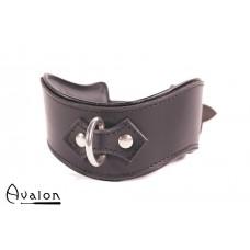 Avalon - GUARDED - Collar med god polstring, Sort