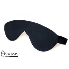 Avalon - BLINDED - Sort  Blindfold med polstring