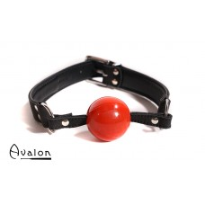 Avalon -  QUIET - Gag med rød ball 40 mm