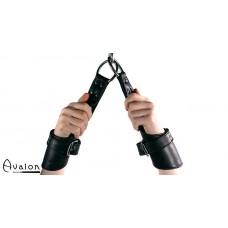 Avalon - FLIGHT - Suspensjoncuffs sort
