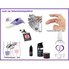 Seksuell helse - Lyst og følsomhetspakke