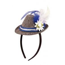 Oktoberfest - Tyroler hatt med hårbøyle