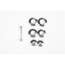 Piercing Nipple Discs (6 piece set)