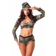 Amorable - Militæruniform, 3 deler