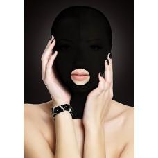 Ouch! - Spandex maske med åpen munn Sort