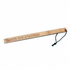 Rimba - Teach Me A Lesson - Bamboo Paddle