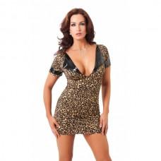 Amorable - Leopard minikjole