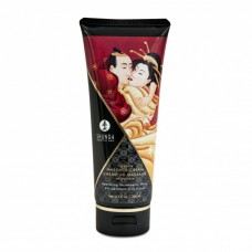 Shunga Kissable Massasjekrem - Sparkling Strawberry Wine 200 ml