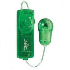 Juzy - Stort vibrerende egg - grønn