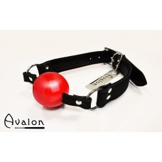 Avalon -  Gag med rød ball 40 mm