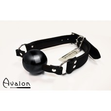 Avalon -  Gag med sort ball 40 mm