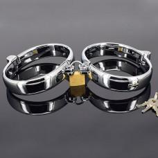 BQS - Ovale håndcuffs i stål