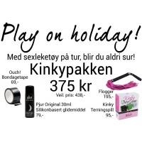 Play On Holiday - Kinkypakke