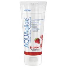 AQUAglide - Vannbasert Glidemiddel - Jordbærsmak 100 ml