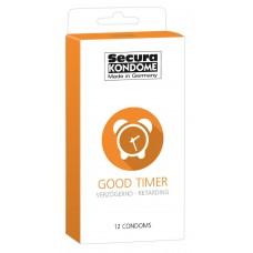 Secura - Good Timer - Kondomer med delay effekt 12 pk