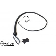Avalon - BEHEMOTH - Bullwhip Heavy Handle, Svart  1,5 m