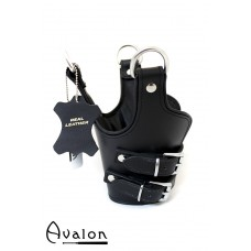 Avalon - TEMPEST - Suspensjoncuffs med polstring sort