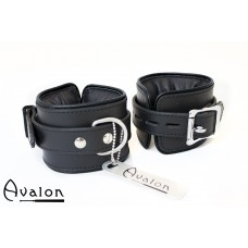 Avalon - ALCHEMY - Polstrede Håndcuffs - Svart
