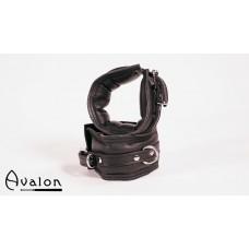 Avalon - Polstrete Håndcuffs Sort