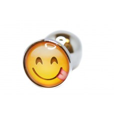 BQS - Buttplug med emoji - Ertende Smiley