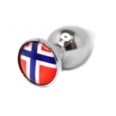 BQS - Buttplug med Norges flagg