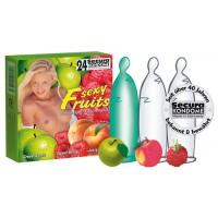 Secura Sexy Fruits - kondomer med smak 24 pk