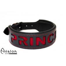 Avalon - I NEED YOU -  Collar Princess - Rød og sort