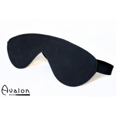 Avalon - Sort  Blindfold med polstring