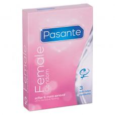 Femidom - Kvinnelig Kondom, 3 stk
